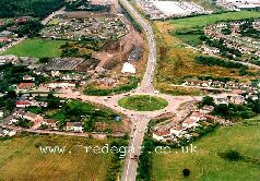 A465 Road - Before road widerning scheme.