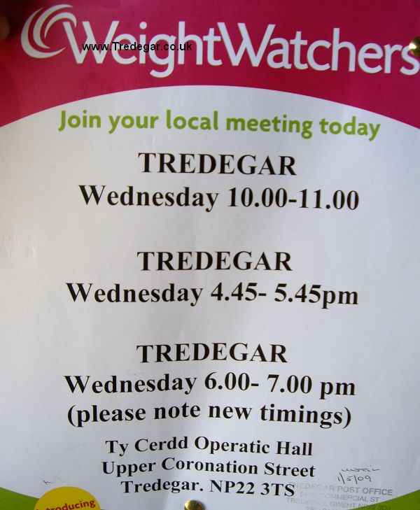 tredegar forum weight watchers location and times in tredegar. Black Bedroom Furniture Sets. Home Design Ideas